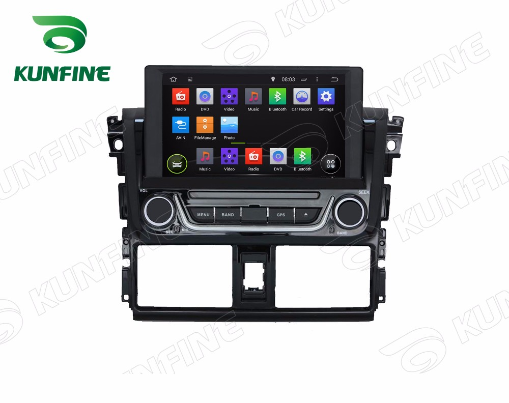 Car dvd GPS Navigation player for yaris 2014 A