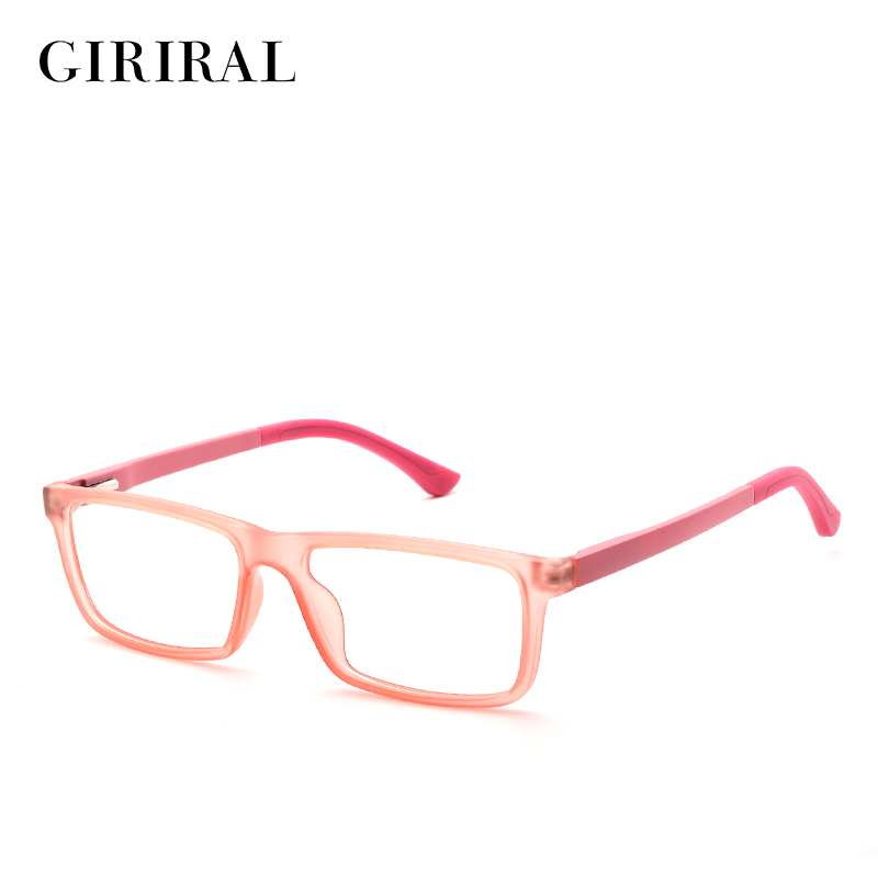 eb4e3b011f2 2018 TR90 kids eye glasses frame designer transparent retro myopia clear  optical brand glasses frame  YX0101-in Eyewear Frames from Apparel  Accessories on ...