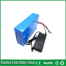 ebike lithium battery 51.8v 40ah lithium ion bicycle 52v 1500w electric scooter battery for kit electric bike with BMS ,charger