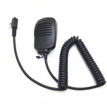 יד מיקרופון מיני עבור Kenwood TK3107 TK3207 TK3307 baofeng UV5R UV6R BF888S BF777S שני מכשירי רדיו דרך