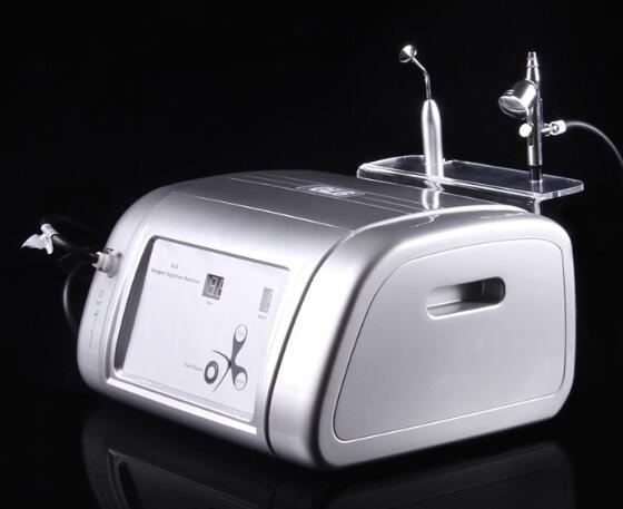 Fast Shipping Portable GL6 O2 Oxygen Jet Facial Care Massage Machine for Anti-wrinkle, lifting