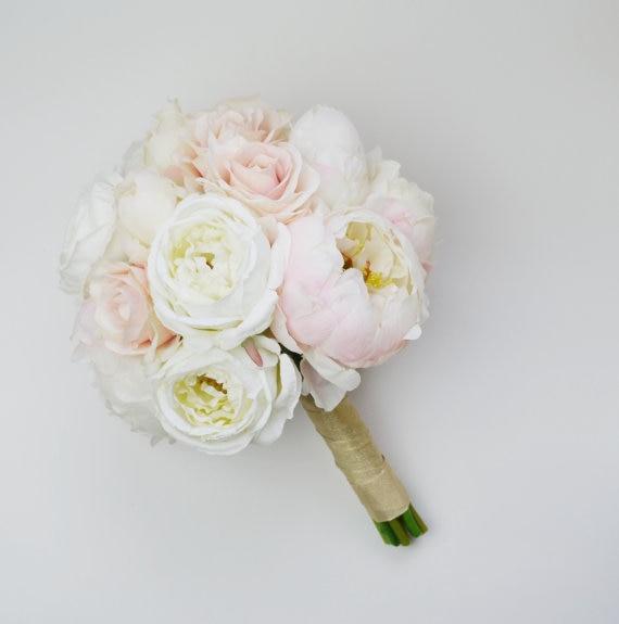 Bouquet de pivoine mariage