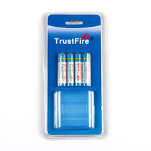 8pcs/lot Trustfire AAA 900mAh 1.2V Rechargeable Ni-MH Battery With Package Box For Toy Flashlight Remote Control,4pcs/card