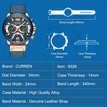 Top Brand Luxury Chronograph waterproof watch for Men