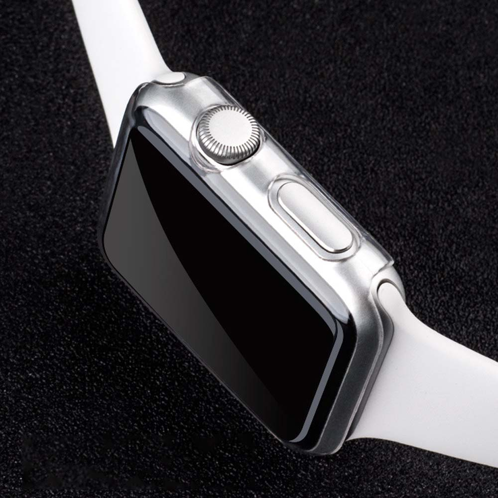 38mm 42mm Crystal Ultra Thin Hard Pc Plastic Transparent Protective Tpu Soft Case Apple Watch Clear Shell Cover For Series 1 2 In Fitted Cases From Cellphones