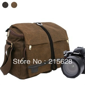Rush r6713 shoulder DSLR Camera Backpack Laptop computer canvas bag for Canon Nikon Sony Similar NATIONAL GEOGRAPHIC NG W2160 national geographic leather travel camera bag soft photography bag shoulder messenger bag for canon nikon digital slr laptop