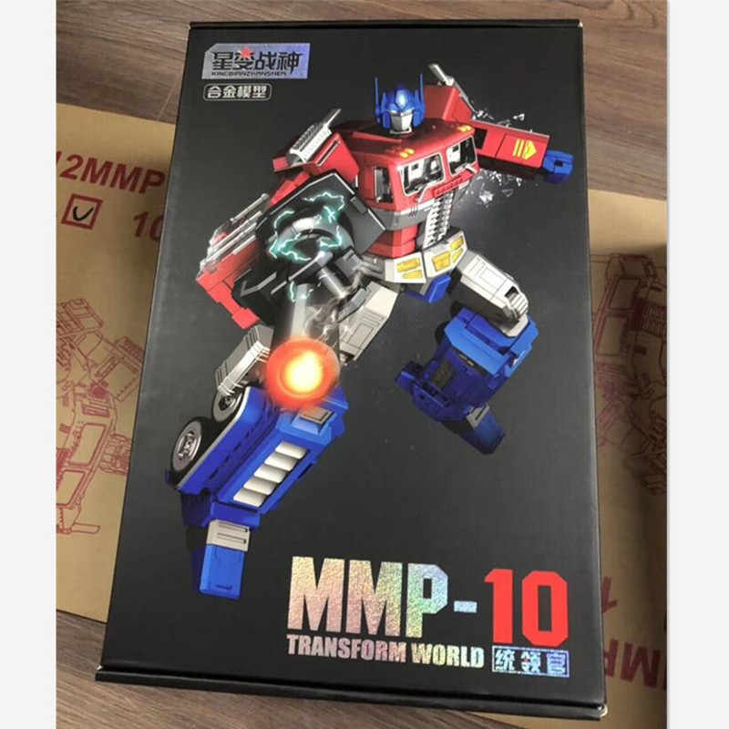 Yuexing Oversize 32CM MPP10 transformación 5 movieToy Cool MMP10 Anime G1 figura de acción Robot coche modelo chico mayor juguete adulto regalo