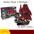 Hot Building Blocks Lepin Pirates of the Caribbean 16009 Educational Toys For Children Best birthday gift Decompression toys