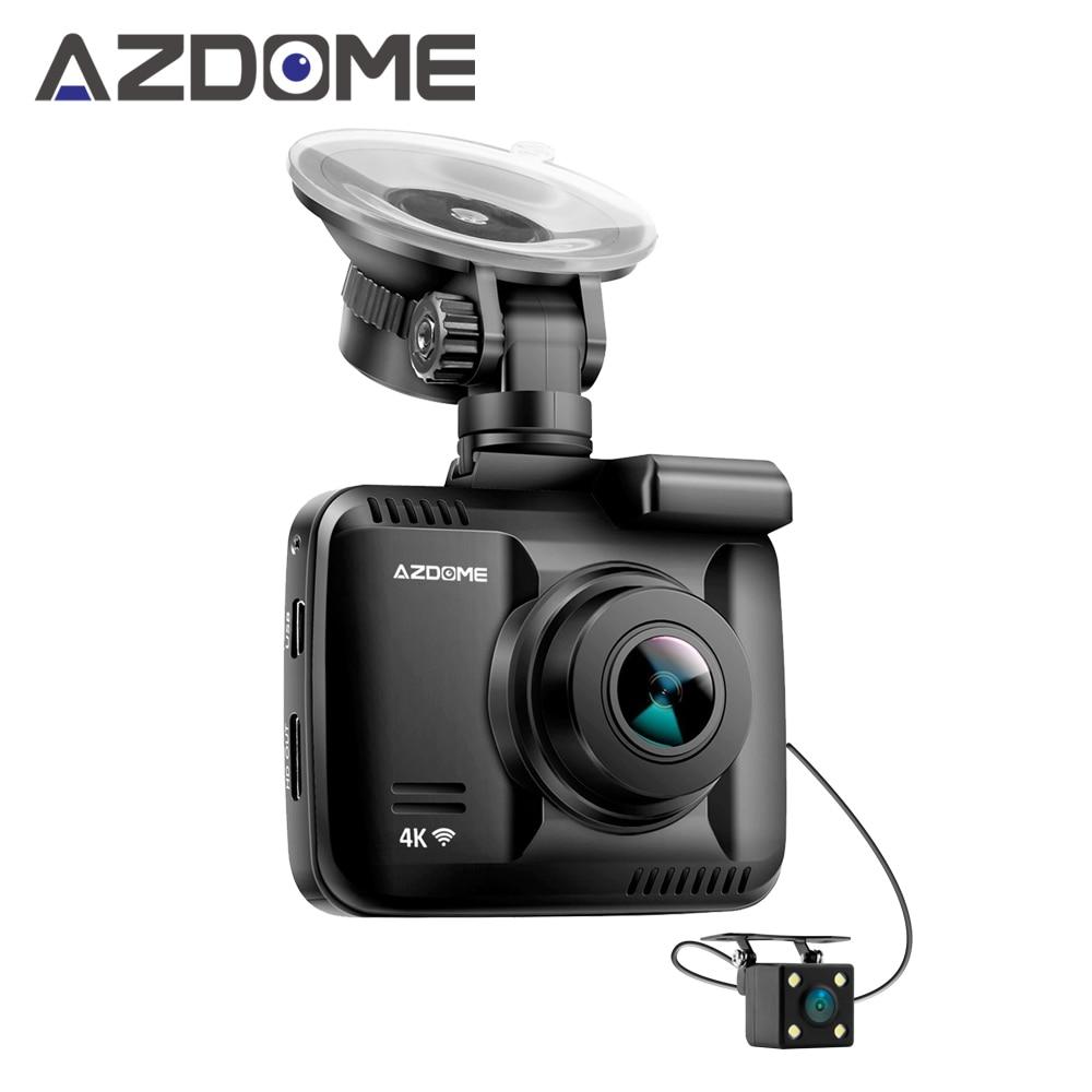 Azdome GS63H Double Objectif WiFi FHD 1080 P Avant + VGA Arrière De Voiture DVR Enregistreur 2160 P Dash Cam Novatek 96660 Dashcam Caméra Construit en GPS
