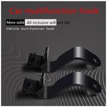 Автомобильный багажник Монтажный кронштейн держатель зонта зажим крюк автомобильный крючок на спинку сиденья Универсальный Автомобильный интерьер 1 пара