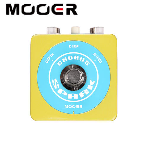 NEW Effect Guitar Pedal MOOER Spark SeriesSPARK CHOURS Classic 80s Chorus Sound True bypass mooer mini classic optical electric compressor effect pedal yellow comp true bypass with smooth attack and decay sound