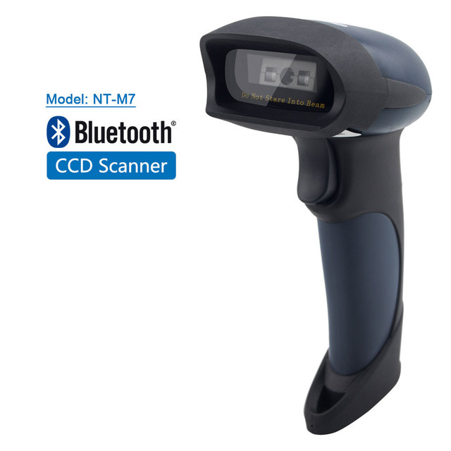 NETUM M2 Wireless Barcode Scanner AND M7 Bluetooth CCD Scanne AND M5 Wired 2D QR Reader USB BarCode Reader for POS and Inventory 5