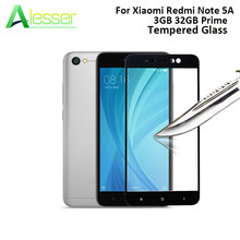 Alesser Voor Xiaomi Redmi Note 5A Gehard Glas 3 gb 32 gb Prime Screen Protector Anti-shatter Film Voor xiaomi Redmi Note Prime(China)