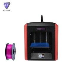 Горячей Продажи в 2017 году Настольных 3D Принтеров ET-K1 Один Экструдер Prusa Двойной Цветной Печати с Высоким Разрешением 3D Сенсорный Экран