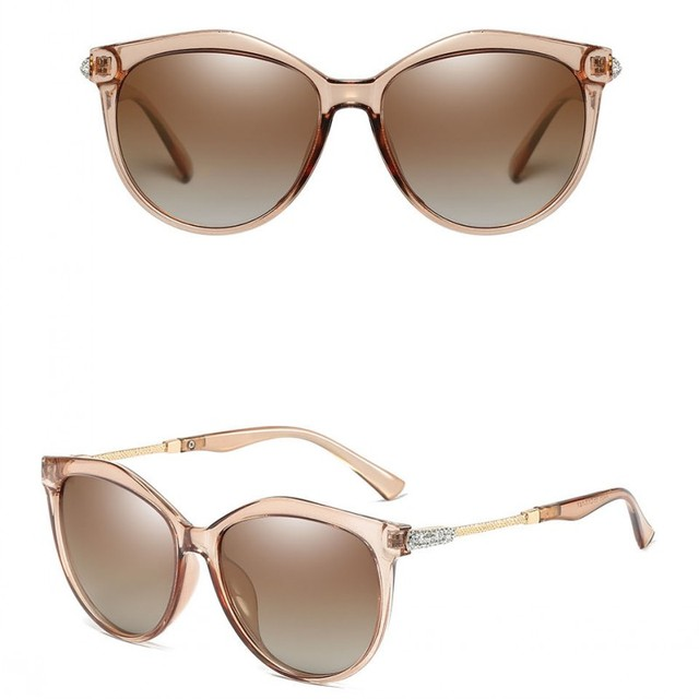 AAAA Polarized Sunglasses Women Shining Diamond Brand Design Square Shades Female Eyewear Mirror Sun Glasses Oculos Lunette 4