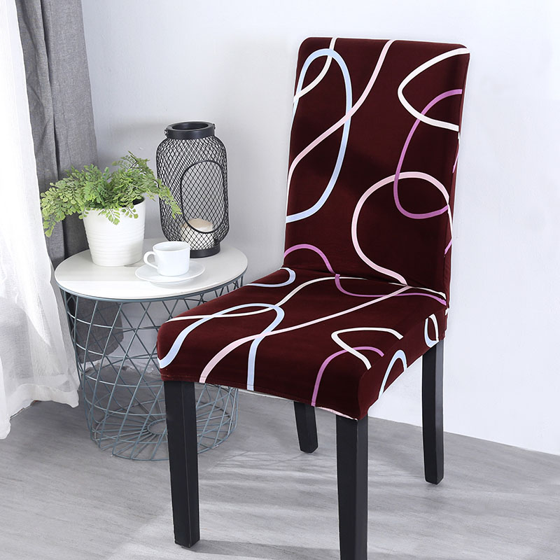 Chair Covers Spandex Removable Wedding Party Dining Chair Cover With Backrest Modern Kitchen Table Chair Cover Housse De Chaise