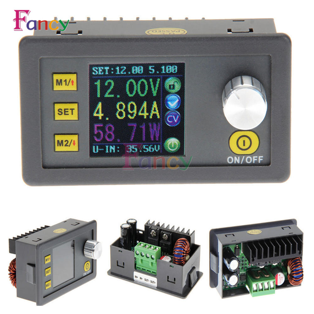 DP30V5A 30V 5A Constant Voltage current Step-down Programmable Power Supply module buck Voltage converter regulator color LCD solar energy wind power regulator charging automatic buck voltage constant voltage constant current adjustable power supply