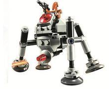 10364 Star Wars Microfighters Série 2-Homing Droid Aranha Modelo de Blocos de Construção Tijolos brinquedos infantis presente Compatível com Lepin