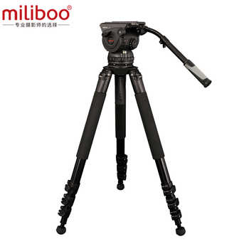 Miliboo movie class professional large camera three tripod M15L hydraulic adjustment dampproof pan tilt bearing 18kg  CD50