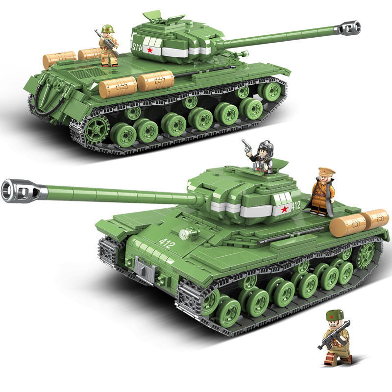 1068pcs Military IS-2M Heavy Tank Soldier Figures Weapon Building Blocks Compatible LegoINGLY WW2 Bricks Army Kids Toys for Boys1068pcs Military IS-2M Heavy Tank Soldier Figures Weapon Building Blocks Compatible LegoINGLY WW2 Bricks Army Kids Toys for Boys