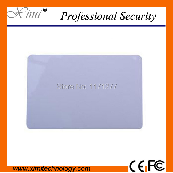 Made in China Mi-fare smart card 13.56MHZ proximity card MF card for time attendance and access control F1108 chip IC card