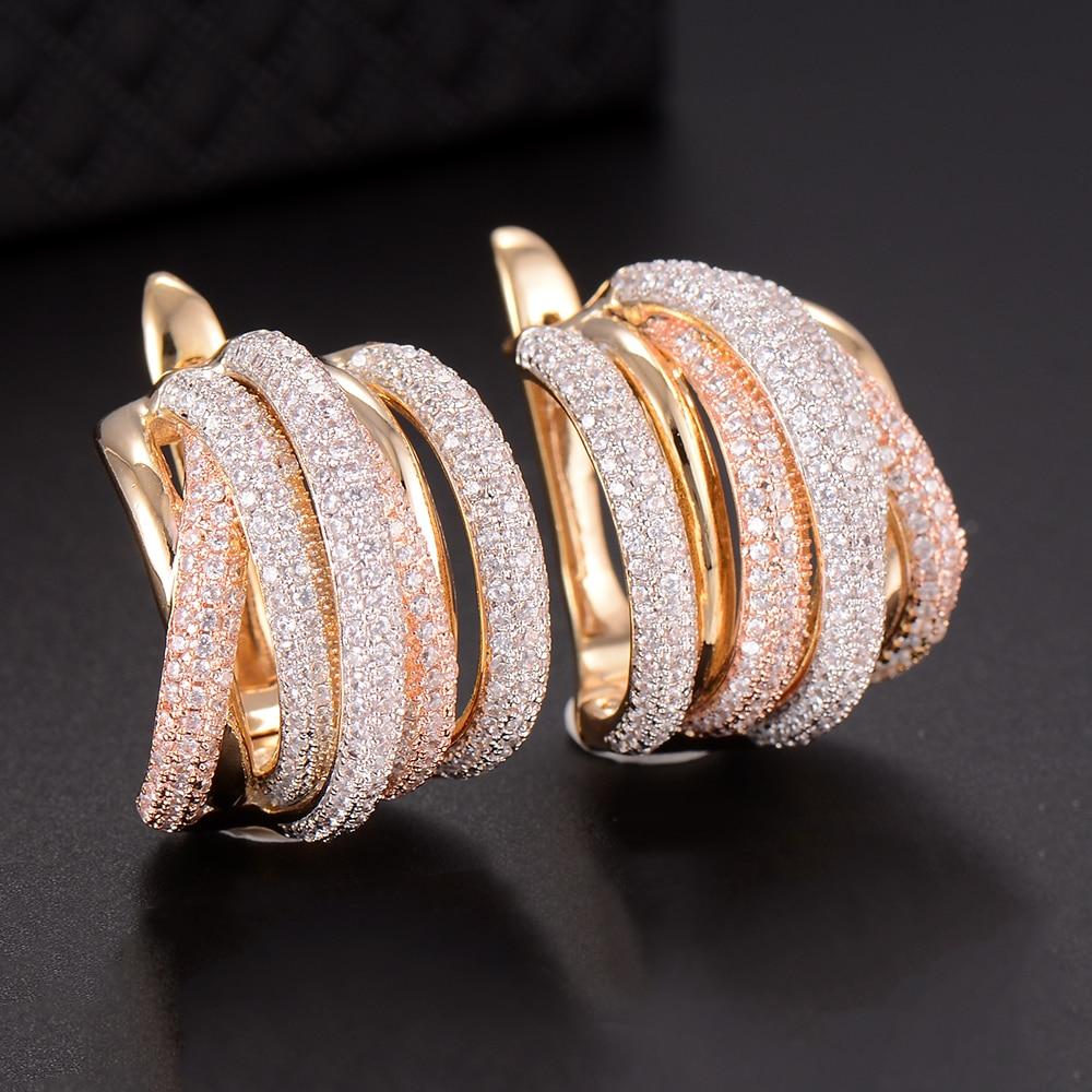 GODKI 25mm Luxury Twist Braided Lines Colorful Full Mirco Pis