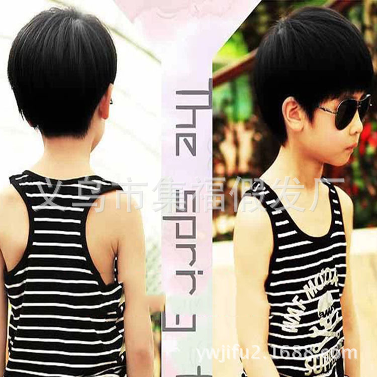 Boy Child Wig BOBO Bobs Performance Photography Is Free Shipping Japan And South Korea Cute Short Haircuts On Aliexpress