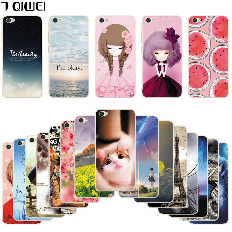 For Xiaomi Redmi Note 5A Case 16GB 5.5 No Fingerprint Hole Printing Cool TPU Soft Silicone Phone Cases Redmi Note 5A Back Cover
