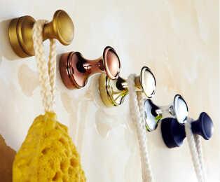 Модные латунные настенные вешалки крючки для пальто декоративный настенный