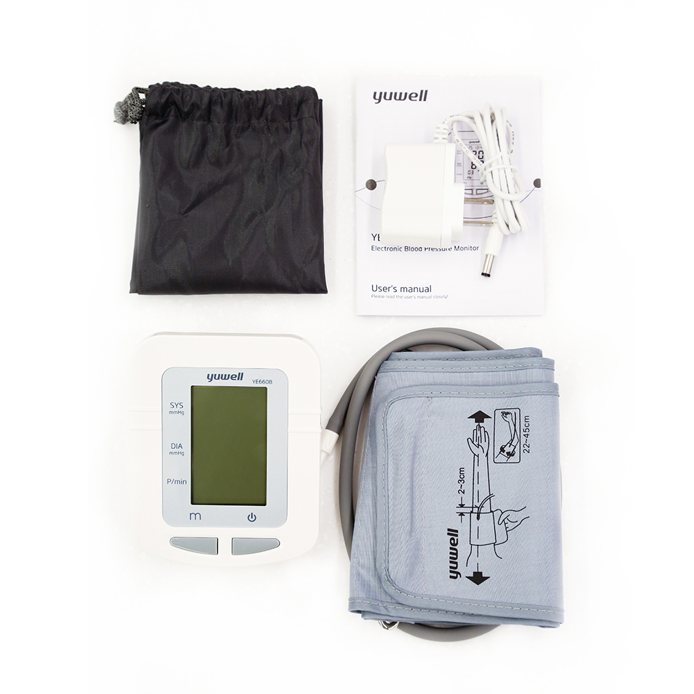 Image 5 - Yuwell 660B Arm Blood Pressure Monitor Large LCD Cuff Medical Nurse Device Sphygmomanometer Blood Pressure Home Health Dector-in Blood Pressure from Beauty & Health