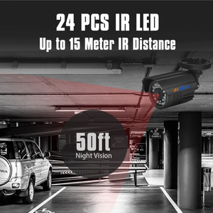 Image 4 - BESDER AHD kamera gece görüş kızılötesi güvenlik Video Surveilla gözetleme Bullet IR kesim filtresi ABS plastik CCTV HD kamera