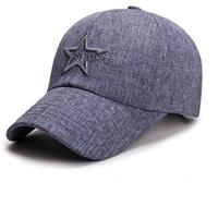 Shade Hat Brand New Fashion Star Pattern Baseball Cap Women Hats Spring Cap Sanpback Summer For