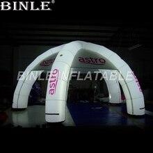 Открытый надувная светящаяся декорация палатка Свадебная Реклама событие гигантские надувные паук с 4 ноги для продажи