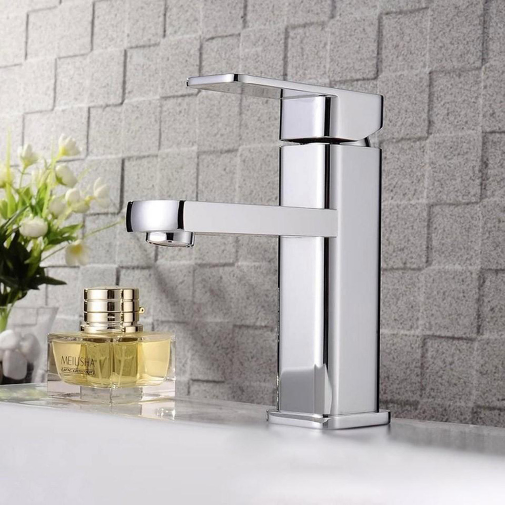 Brass Single Hole Basin Faucet Cold And Hot Water Torneira Good Quality Kitchen Tap jomoo brass kitchen faucet sink mixertap cold and hot water kitchen tap single hole water mixer torneira cozinha grifo cocina