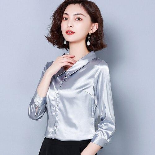 I447632 Women Blouses Blusa Vintage Chiffon Blouse Shirt