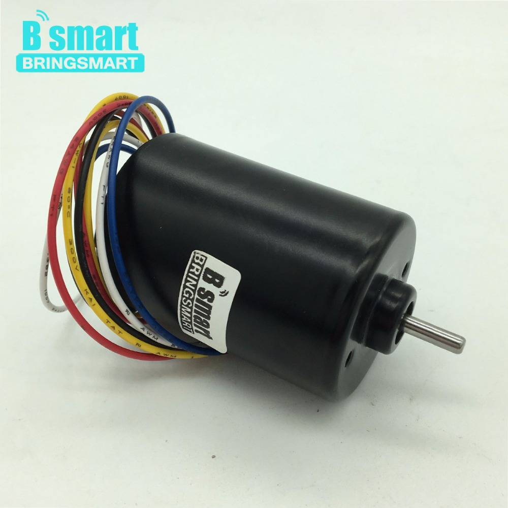 Bringsmart A3650 Brushless DC Motor 12V 24V Mini Motor DC 3000rpm 6000rpm Reversed Built-in Driver High Speed High Torque factory direct fc 3650 brushless dc gear motor high quality high torque output