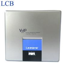 5 pçs/lote Desbloqueado Linksys SPA3000 VoIP FXO FXS adaptador de Telefone VoIP Adaptador de Telefone Internet PTSN Frete Grátis