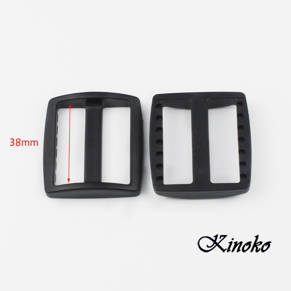 100pcs/pack 1-1/2 Plastic Black Slider Tri Glide Adjust Buckles For Dog Collar Harness Straps Webbing 38mm #mb0075 Year-End Bargain Sale Arts,crafts & Sewing Buckles & Hooks
