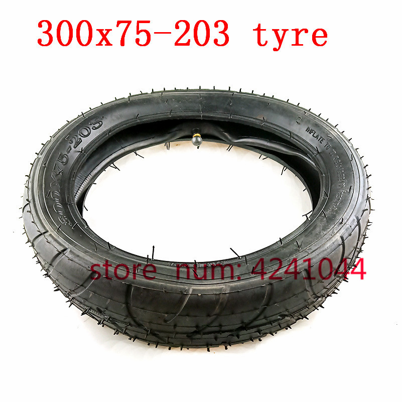o envio gratuito de pneu pneumatico 300x75 203 tubo interno do pneu apto para criancas triciclo