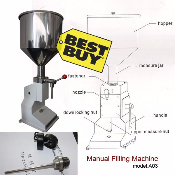 Free Shipping Manual Filling Ma