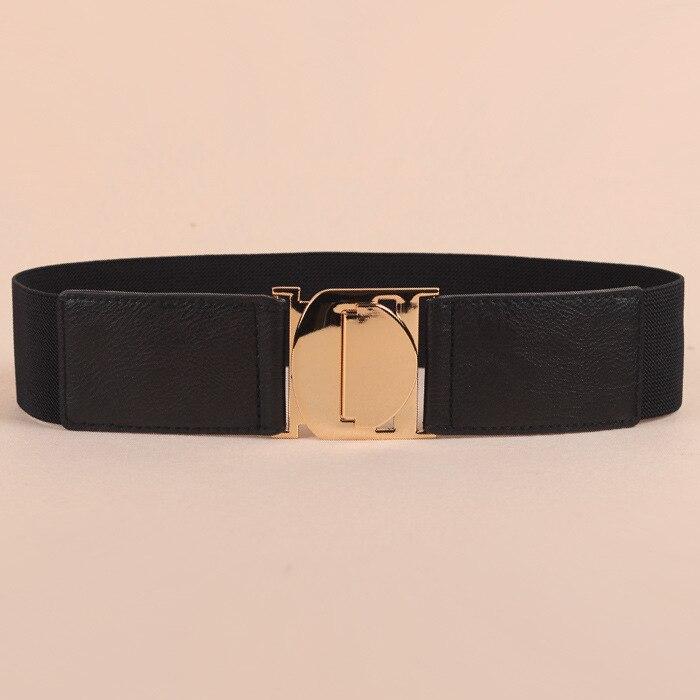 Korean Cummerbunds New Products Simple Women Tightness Waistband Windbreaker Skirt Personality Belts Corset Belt
