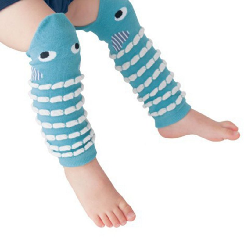 Children Baby Boy Girls Infant Leggings Kids Cute design Leg Warmers Knee Pad