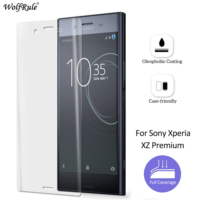 2Pcs For Film Sony Xperia XZ Premium Screen Protector Phone Film For Sony Xperia XZ Premium Glass Soft Film For Sony XZ Premium ...