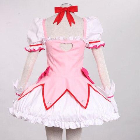 Puella Magi Madoka Magica Kaname Madoka cosplay costume Halloween costume for women anime clothes girls Fancy dress Lahore