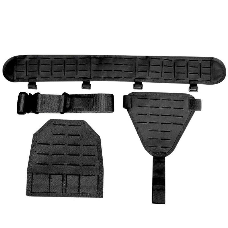 Nouvelle ceinture tactique 1000D Nylon à séchage rapide Militar Airsoft Ultra large équipement ceinture en cuir accessoires de chasse