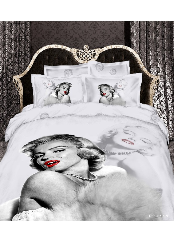 Aliexpress Com Buy Marilyn Monroe Bedding Set 3d 100 Cotton Michael Jackson American Flag Christmas Red Duvet Cover Bed Sheet Set Queen King Size From