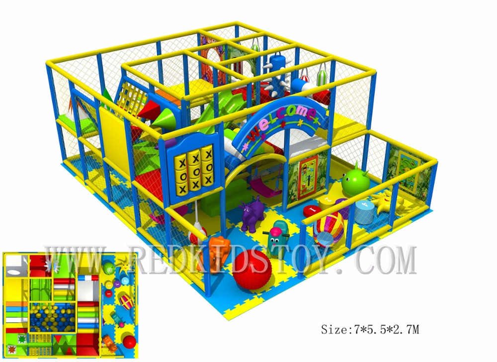Norme de l'ue CE certifié écologique Center de divertissement pour enfants labyrinthe HZ-7829D aire de jeux pour enfants