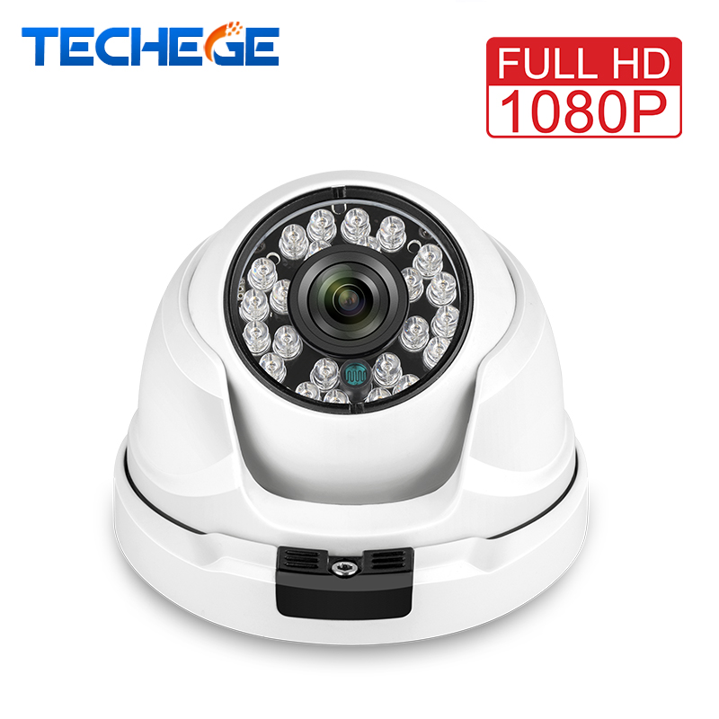 Techege Wide Angle 2.8MM Lens 1080P IP Camera 2MP 48V POE Security Camera Metal ONVIF Night Vision CCTV Video Camera System
