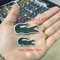 Wholesale Quality For Crocodile Embroidered Patches Iron On Jacket Tshirts Bags Patches  Applique DIY Embroidery Patch Free Ship