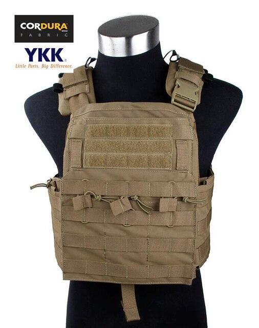 Vest Coyote Plate Cordura Ver 2016 Carrier sku050610 Cpc Tmc Tactical Cherry Brown 2DEIH9